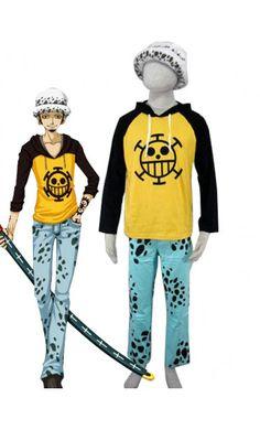 One Piece Halloween Trafalgar Law Halloween Costumes