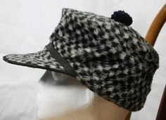 Vintage Black and White Checked Elmer Fudd by ilovevintagestuff