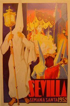 Sevilla. Semana Santa, 1952.