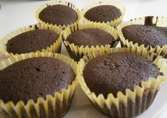 Csodás csokis muffin Muffins, Cupcakes, Cake Recipes, Goodies, Sweets, Breakfast, Food, Kuchen, Sweet Like Candy