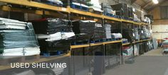 Used Shop Shelving - we buy and sell!