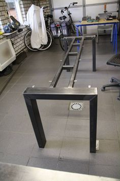 28'' Table Base, Metal Table Legs, Industrial Style, Woodworking, Stainless Steel, Diassembles Table Legs, Custom Dining Table Base