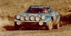 Bernard Darniche guides the Lancia Stratos to the last of its four consecutive Monte Carlo Rally victories in 1979.
