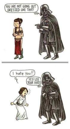 Star Wars. Darth Vader. Parenting.