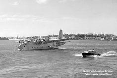 TEAL Shorts flying boat 1949 Auckland New Zealand