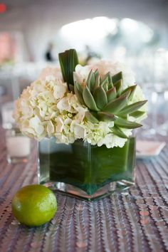 Wedding Flower Arrangements Centerpiece - Check out these gorgeous images courtesy of Catherine Hall Studios of this beautiful Sonoma wedding at Viansa Winery. Succulent Centerpieces, Succulent Arrangements, Wedding Table Centerpieces, Wedding Flower Arrangements, Floral Centerpieces, Floral Arrangements, Wedding Decorations, Centrepieces, Stage Decorations