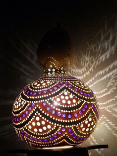Amazing Art Inspired Gourd Lamps (13)