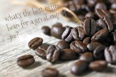 whats the best coffee bean for a great cup of coffee