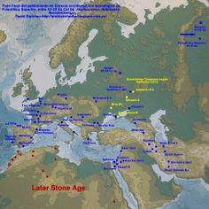 La expansión de Homo sapiens hacia Eurasia occidental según la arqueología - NOTICIAS DE PREHISTORIA - Prehistoria al Día -
