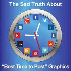 Best time to post graphics...