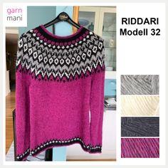 Crochet Jacket, Knit Crochet, Fair Isle Knitting Patterns, Drops Design, Pullover, Sweaters, Jackets, Style, Craft Ideas