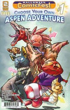 Choose Your Own Aspen Adventure (Aspen Comics) Halloween Comicfest #1 2017 NM