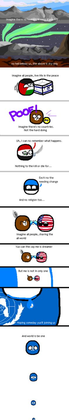 Imagine the World in Peace. #UNball