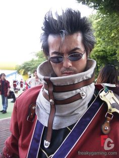 Auron from final fantasy