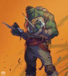 Totally Tubular Teenage Mutant Ninja Turtle Art — GeekTyrant