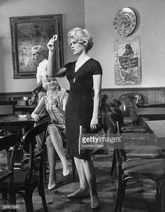 Actress Brigitte Bardot while making the film Lady and the Puppet