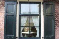 Window Boxes, Shutters, Bungalow, Windows, Home, Van, Google, Black Windows, Facades