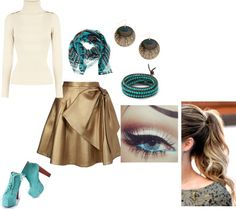 """Turquoise"" by kaitlyn-romeril-beck on Polyvore"