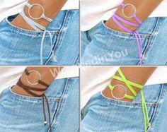 BOHO Silver Infinity Circle Triple Wrap Bracelet by WrappedinYou