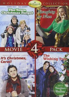 Movie Treasures By Brenda: Hallmark Christmas Movies (2012). Includes t's Christmas Carol, Naughty or Nice, The Town Christmas Forgot and The Wishing Tree.