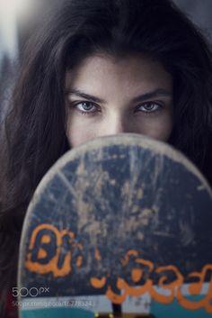 Skate Girl by Markus_Berger #nature #photooftheday #amazing #picoftheday #sea #underwater
