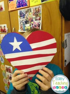 How to make a Heart-Shaped American Flag: Perfect for September 11th, Veteran's Day, Symbols, and 4th of July