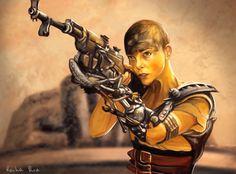 Mad Max: Furiosa, Reiha Rin on ArtStation at https://www.artstation.com/artwork/xD1w2
