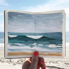 Happy Labor Day weekend from the magical sketchbook and feed of @carrieshryock. I can't get enough of her work!