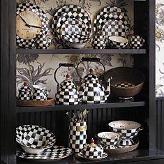 Mackenzie Childs kitchen set!