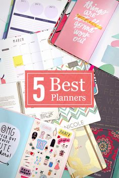 If you're looking for a way to get organized in the upcoming year, we've done half the work for you. A huge key to organization is the proper planner, and we've narrowed down the list to our top five paper planners.