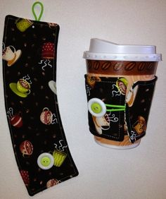Quilt-a-Rie!: New Tutorial - Coffee Cup Cozy