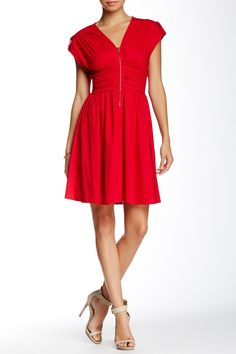 Love...Ady | Front Zip Dress