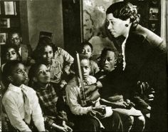Augusta Baker, who worked in Children's Services at The New York Public Library from 1937 to 1974.