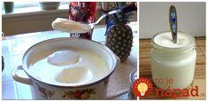 To najlepšie som našla takpovediac doma. Recept na jogurt tak, ako ho pripravovala naša babička. Keď som ochutnala, hneď som si na tú chuť spomenula. Vrelo odporúčam! Learn To Cook, Glass Of Milk, Omega 3, Pudding, Cheese, Drinks, Cooking, Ethnic Recipes, Desserts