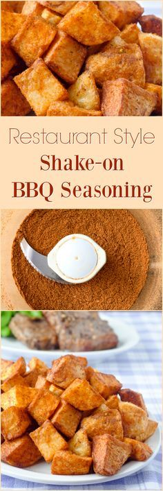 Barbecue Spice Mix Seasoning, a restaurant style shake-on seasoning blend that boosts flavour on everything from french fries & hash browns to grilled meats & veggies! Barbecue Spice Mix Seasoning, restaurant style shake-on seasoning blend K Lewis Meat Seasoning, Vegetable Seasoning, Homemade Spices, Homemade Seasonings, Homemade Food, Grilled Veggies, Grilled Meat, Grilled Cauliflower, Grilled Sandwich