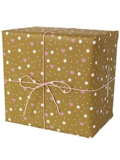 Hearts, Dots and Stars Wrapping Paper by Ava & Ives