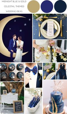 Have a peek at these individuals Wedding Theme Ideas Midnight Wedding, Galaxy Wedding, Starry Night Wedding, Moon Wedding, Celestial Wedding, Dream Wedding, Wedding Blue, Midnight Blue Weddings, Blue Wedding Themes