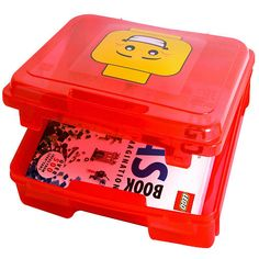"""LEGO Project Case with Base Plate (Colors/Styles Vary) - Iris USA - Toys """"R"""" Us"""