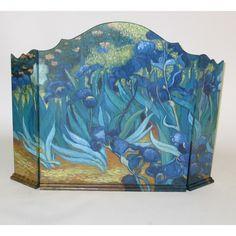 Wayborn Blue Tulips Room Divider - 4763