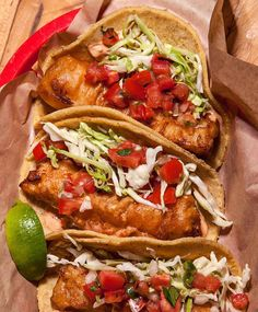The fish taco—battered and fried, cabbage-stuffed—might have originated in San Felipe, the Baja California gulf town south of Mexicali, or in Ensenada, a three-hour drive northwest to the Pacific. Cod Fish Tacos, Tilapia Tacos, Fried Fish Tacos, Fried Tilapia, Shrimp Tacos, Best Fish Taco Recipe, Fish Recipes, Seafood Recipes, Mexican Food Recipes