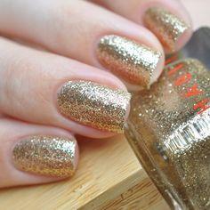 Habit Cosmetics Nail Polish Color 31 Paris Is Burning Swatch