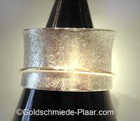 Rollring Silber Gold
