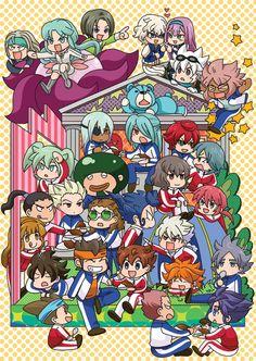 Inazuma eleven go Anime Girl Neko, Me Anime, Anime Love, Manga Anime, Litle Boy, Inazuma Eleven Go, Cartoon Tv, Boy Art, Cute Drawings