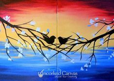 Painting Love Couple Date Nights Ideas Painting Love Couple, Couple Art, Wine And Canvas, Paint And Sip, Paint Party, Diy Painting, Painting Classes, Beginner Painting, Canvas Art