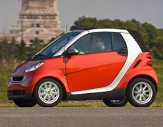 Smart car for inner city living and parking.Doors clip on and off new colors ...only two seats.