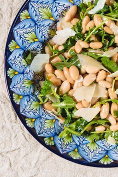 This white bean salad recipe with Grana Padano makes a great summer side for a bbq or picnic