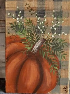 Fall Canvas Painting, Autumn Painting, Autumn Art, Fall Paintings, Painting Pumpkins, Wood Paintings, Body Painting, Pumpkin Art, Pumpkin Signs