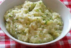 Sajtos-cukkinis rizs
