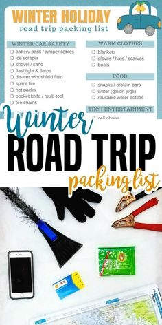 37 Important Things You Need to Pack for a Winter Road Trip [Printable Packing List]