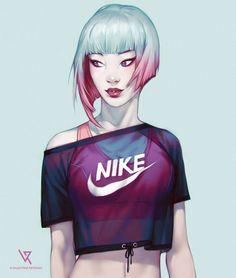 Sport Girls, Valentina Remenar - Love the hair!